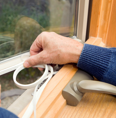 Weatherstripping on Doors and Windows