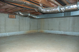 Insulating Crawl Space Ducts